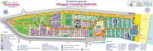 planimetria villaggio camping maratea